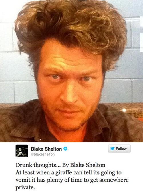 "Miranda Lambert Tells Blake Shelton ""Rehab or Divorce Now"" - Blake is a Mean Drunk and Miranda is Desperate!"