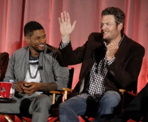 The Voice's Blake Shelton, Usher, and Adam Levine Destroy American Idol's Keith Urban