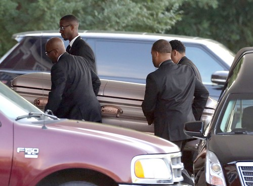 Bobbi Kristina Brown Reception at Pat Houston's Home After Funeral Party