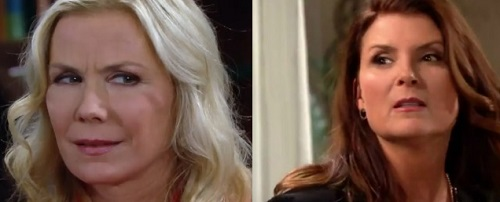 The Bold and the Beautiful Spoilers: Brooke Fears Sheila, Apology Leaves Her Wary – Trouble Brewing for Quinn