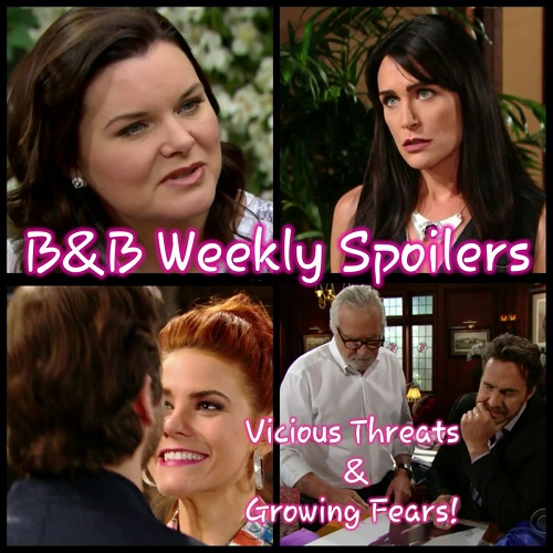 The Bold and the Beautiful Spoilers: Week of May 29 – Vicious Threats, Growing Fears, and Big Favors
