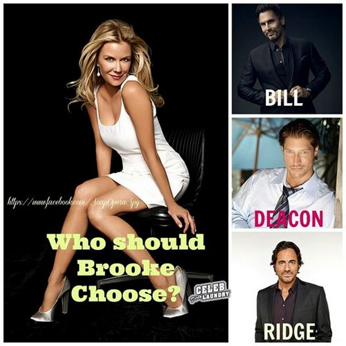 The Bold and the Beautiful Spoilers: Couple Gets Married - Brooke and Bill, Maybe Deacon or Liam and Hope?