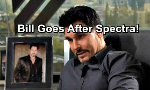 The Bold and the Beautiful Spoilers: Bill Plots to Destroy Spectra Fashions – Schemes to Take Down Company