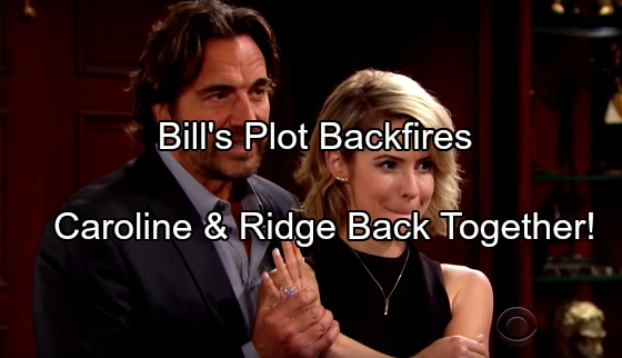 The Bold and the Beautiful Spoilers: Caroline Crushed After Thomas Plot Backfires – Lonely Ridge Supports Her, CaRidge Reunites?