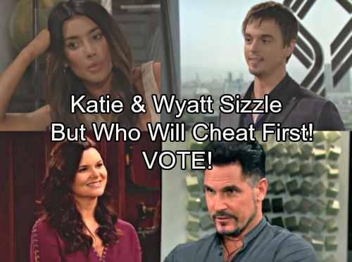 The Bold and the Beautiful Spoilers: Wyatt and Katie Sizzle, But Old Options Resurface – Who Will Cheat First?