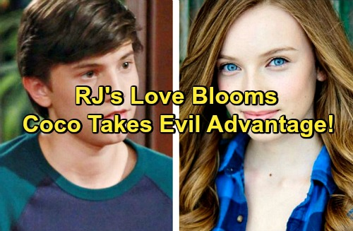 The Bold and the Beautiful Spoilers: RJ Gets Sally's Sister a Forrester Internship, Love Blooms – Coco Steals for Spectra