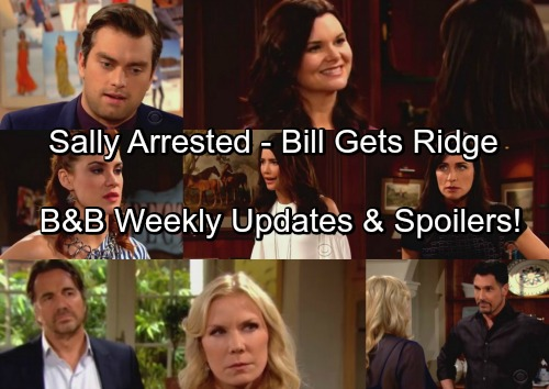 The Bold and the Beautiful Spoilers: Steffy Goes After Sally, Criminal Arrested – Bill Exposes Ridge's Secret
