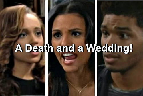 The Bold and the Beautiful Spoilers: Zende and Nicole's Wedding Ahead – Jealous Sasha's Scheme Leads to Shocking Death?