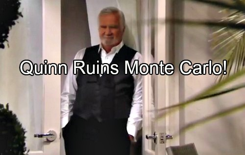 'The Bold and the Beautiful' Spoilers: Quinn's Arrival Ruins Steffy's Monte Carlo Fun – Eric Faces Horrible Shame