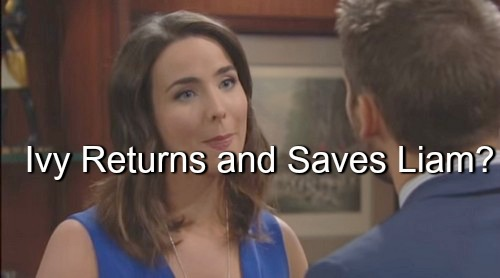 The Bold and the Beautiful (B&B) Spoilers: Ivy Rescues Liam from Quinn - Returns From Australia During February Sweeps?