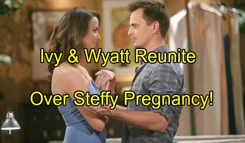 The Bold and the Beautiful Spoilers: Ivy and Wyatt Bond Over Steffy Pregnancy With Liam Heartbreak, 'Wivy' Reunion Ahead