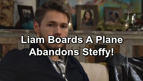 The Bold and the Beautiful Spoilers: Liam Assumes Steffy Chose Wyatt, Boards a Plane – Misunderstanding Leads to Major Drama