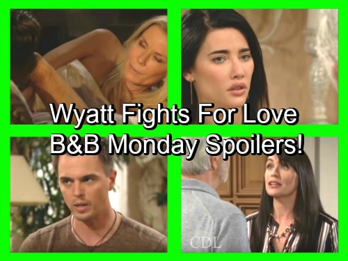 The Bold and the Beautiful Spoilers: Eric Tells Steffy to Lead – Wyatt Fights for Love – Ridge and Brooke's Passion Erupts