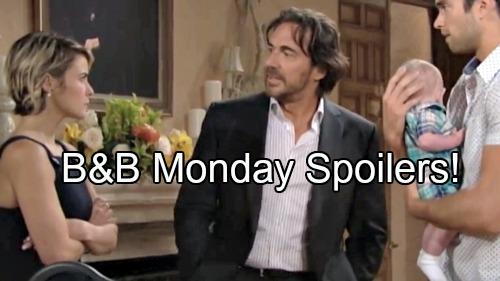 'The Bold and the Beautiful' Spoilers: Thomas Wants Caroline Back, Ridge Sulks - Katie Convinced of Cheating, Brooke Backs Off