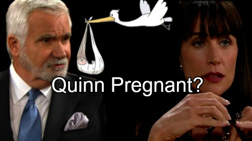 'The Bold and the Beautiful' Spoilers: Will Quinn Learns She's Pregnant With Eric's Baby - Total Forrester Chaos?