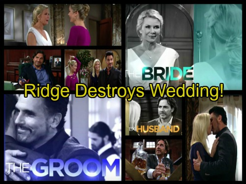 The Bold and the Beautiful Spoilers: Ridge Tries to Stop Brooke's Wedding, Bill Freaks – Family Legacy On The Line