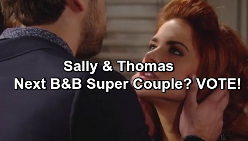The Bold and the Beautiful Spoilers: Thomas and Sally, The Next B&B Power Couple?