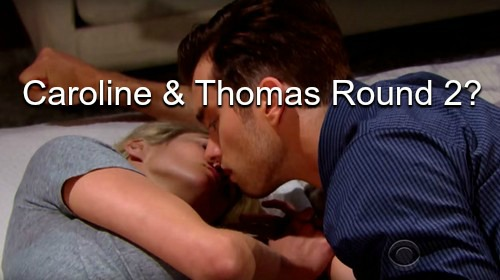 The Bold and the Beautiful (B&B) Spoilers: Caroline's Baby Emergency Reveals Gender – Caroline Falls for Reformed Baby Daddy?
