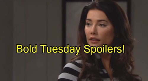 The Bold and the Beautiful Spoilers: Eric Improves, Disgusted With Ridge – Steffy Has Second Thoughts, Makes Love With Liam?