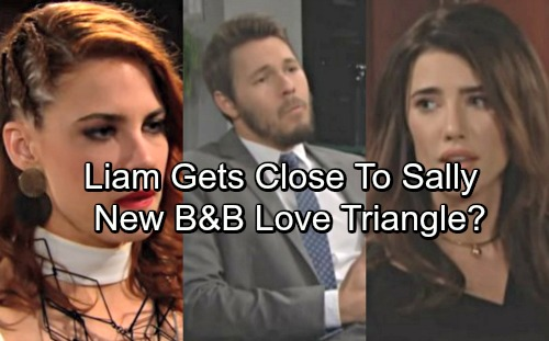 The Bold and the Beautiful Spoilers: Liam Grows Closer to Struggling Sally – Steffy Worries, New B&B Love Triangle?