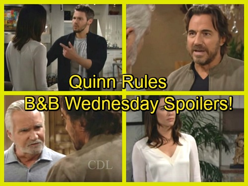 The Bold and the Beautiful Spoilers: Ridge and Eric Clash Over CEO Pick – Liam Says Quinn Is Pushing Wyatt Reunion