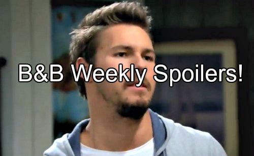 The Bold and the Beautiful (B&B) Spoilers: Week of May 23 – Baby Names and Lies - Crime and Punishment