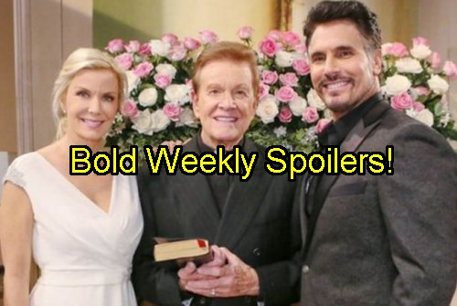 'The Bold and The Beautiful' Spoilers: Week of October 24 - Bill Left at Altar - Nicole Decides Surrogacy - Quinn Battles Ridge
