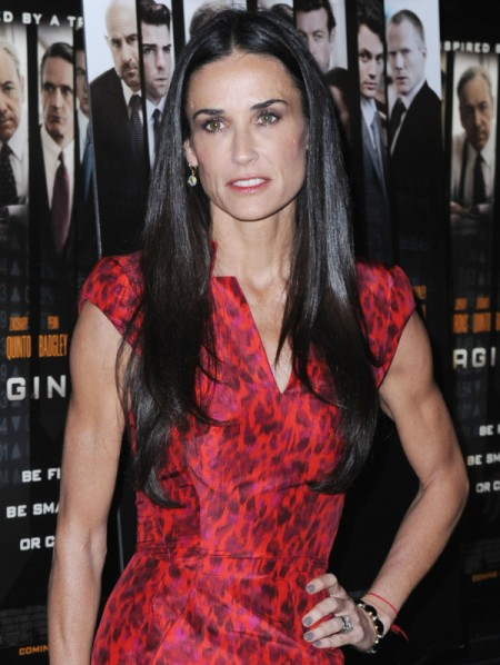 Demi Moore Writing Tell-All Book - Therapeutic Or Pathetic? 0827