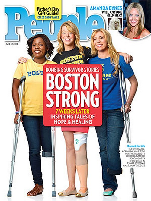 Boston Bombing Survivors Cover People Magazine (Photo)