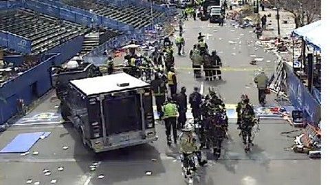 BOSTON MARATHON EXPLOSIONS - DEATHS AND MANY CASUALTIES - BOMBS, TERROR ATTACK?