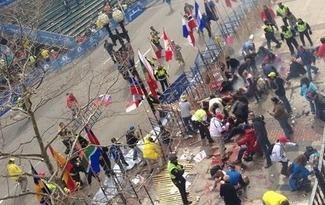 "Boston Marathon Bombing - Vice President Biden Uses Word ""Bombing"" - 2 DEAD"