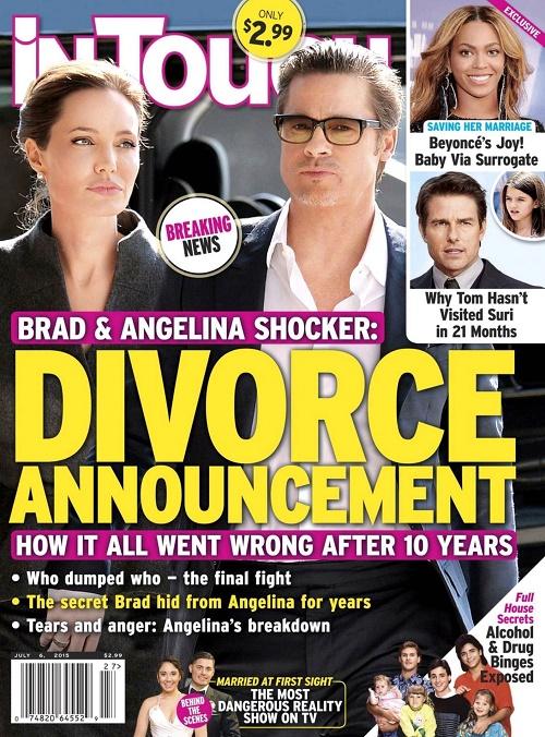 Angelina Jolie, Brad Pitt Divorce: Breakup Of Brangelina ...