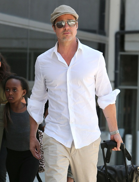 Brad Pitt And Angelina Jolie Collide With Jennifer Aniston At WeHo Eatery: Romantic Tension Ensues!