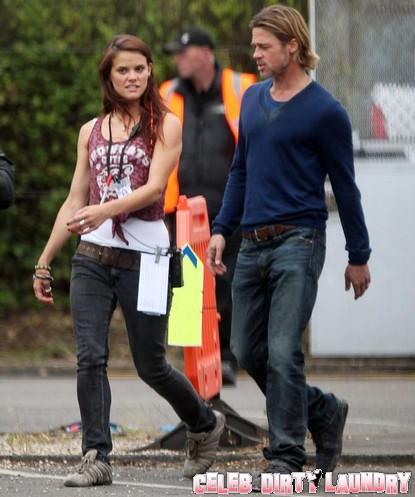 Angelina Jolie Jealous Over Brad Pitt's Assistant?