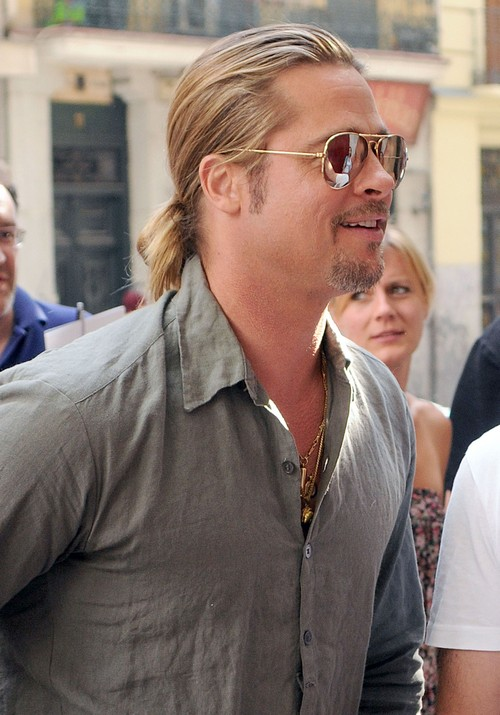 Brad Pitt Fears His Aging Face Will Cost Him Angelina Jolie