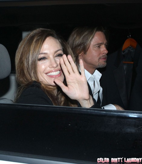 Brad Pitt And Angelina Jolie DID Have a Christmas Wedding