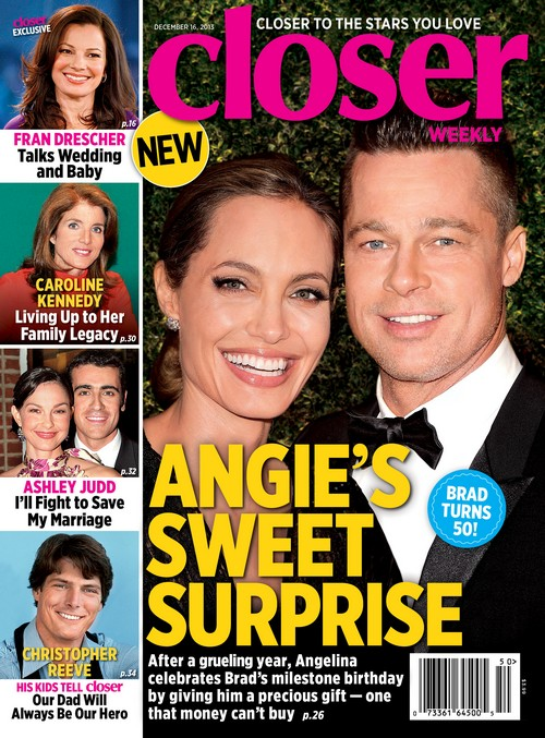 Angelina Jolie And Brad Pitt Celebrate Brad's 50th Birthday With Another Baby? (PHOTO)