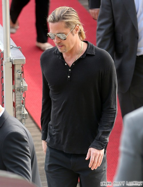 Brad Pitt Dumps Angelina Jolie On Her Birthday - Gets Drunk And Parties For Hours Without His Wife