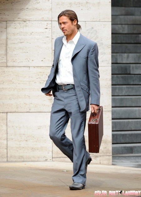 Brad Pitt Forced To Wear Spanx By Angelina Jolie