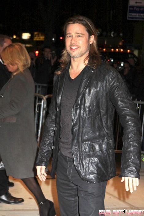 Brad Pitt Announces Wedding Date Near