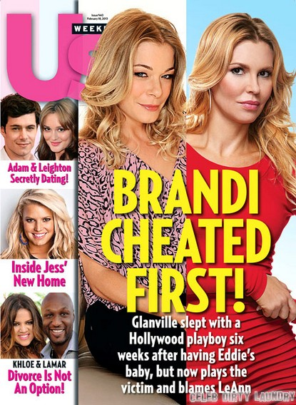 Brandi Glanville Cheated On Eddie Cibrian First!