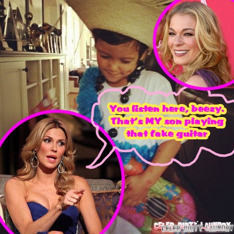 Brandi Glanville and Children Played By Actors On LeAnn Rimes And Eddie Cibrian Reality Show