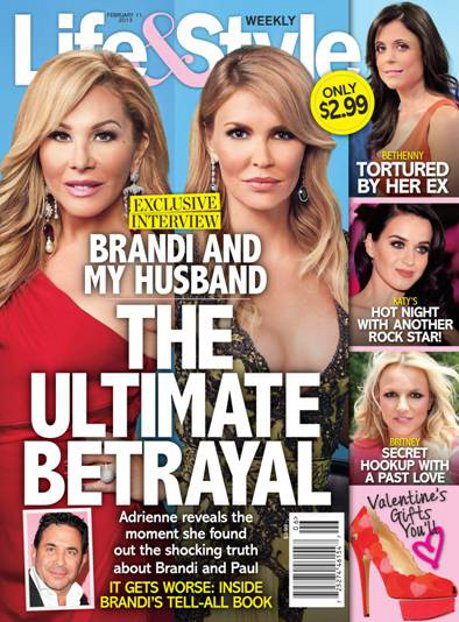 Adrienne Maloof Exposes Brandi Glanville as a Life Ruiner: Betrays their Friendship!