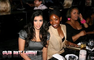 Movie Set Not Big Enough For Brandy and Kim Kardashian Feud