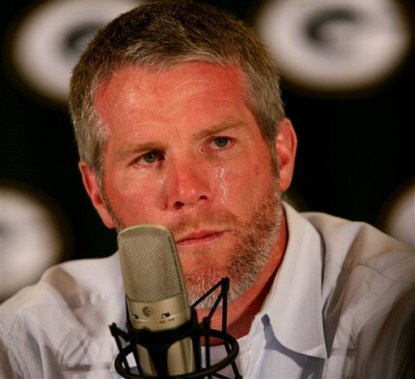 Brett Favre Texted Masturbation Request To Jenn Sterger