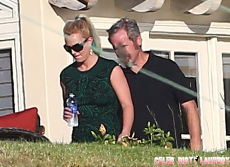 Britney Spears Caught In Action: X Factor Season 2 Judges House Preview Sneak Peek (Video)