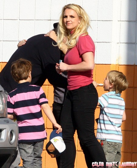 Report: Britney Spears Children Sad and Neglected - All She Cares About Is The X-Factor USA