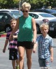 Britney Spears Takes Her Boys To Toys R Us