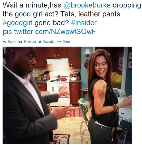 Dancing With the Stars Spoilers: Brooke Burke-Charvet Resents Being Fired For Erin Andrews - Gets Tattoos (PHOTOS)