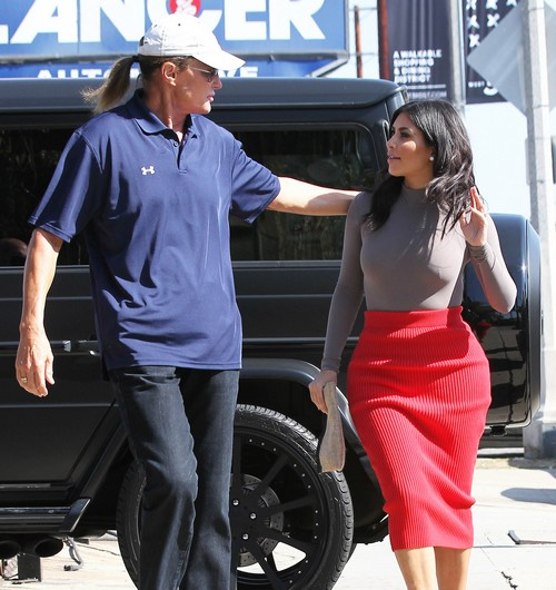 Kim Kardashian and Bruce Jenner Bond Over Hate For Kris Jenner Ruining Kanye West Marriage (PHOTOS)